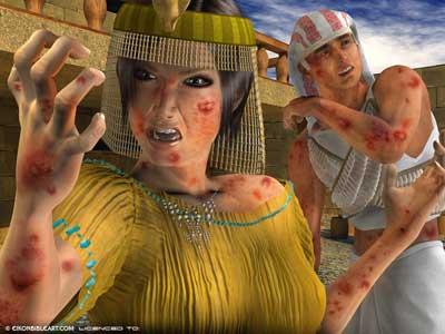 Les 10 plaies d'Egypte ... expliquées scientifiquement !